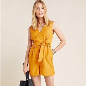 Anthropologie Maeve Romper NWT